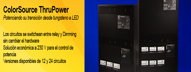 ColorSource ThruPower de ETC